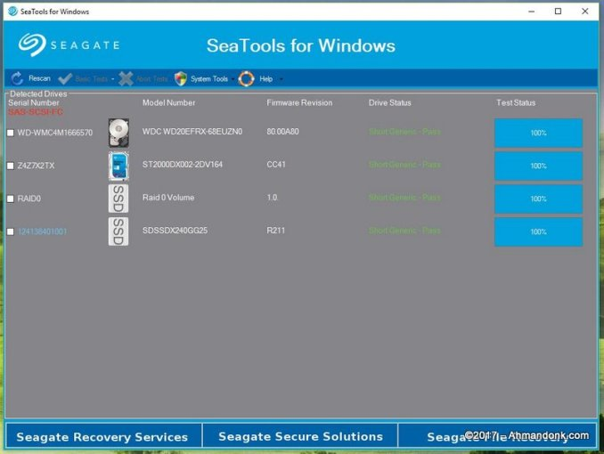 Seagate SeaTools for Windows