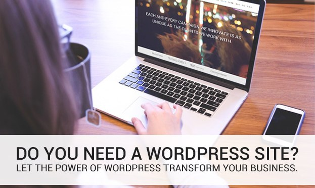 Seven Benefits of Using WordPress When Designing a Company Website