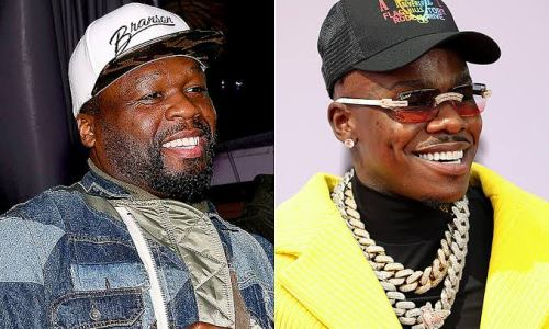 50 Cent Embraces Mentoring DaBaby