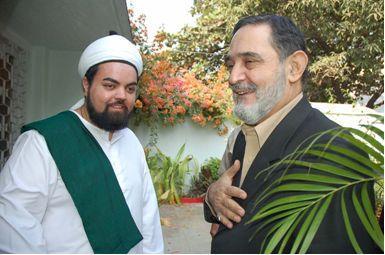 Meeting Pir Salman al-Gailani