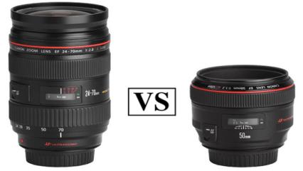 Zoom Lenses Vs. Prime Lenses