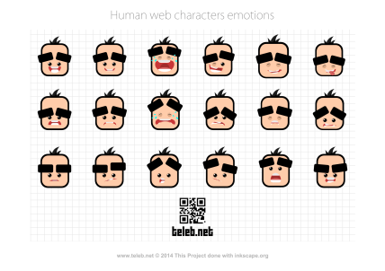 human emotions icon