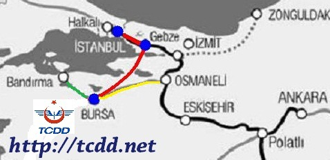 TCDD stanbul Bursa tcdd.net yht