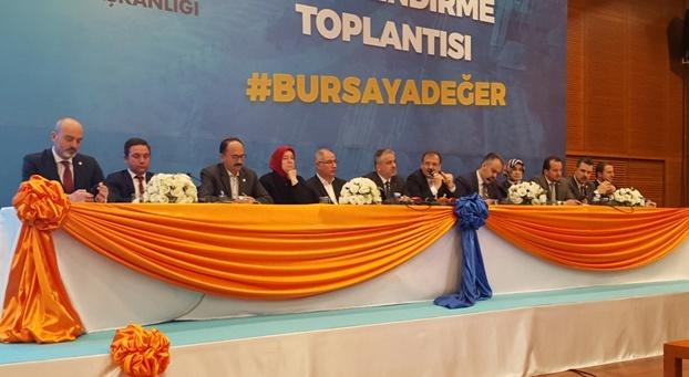 DEĞERLENDİRME TOPLANTISI AK PARTİ MİLLETVEKİLLERİ