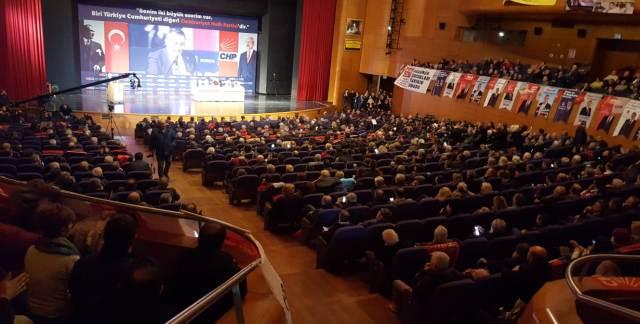 CHP İL KONGRESİ MERİNOS OSMANGAZİ SALONU