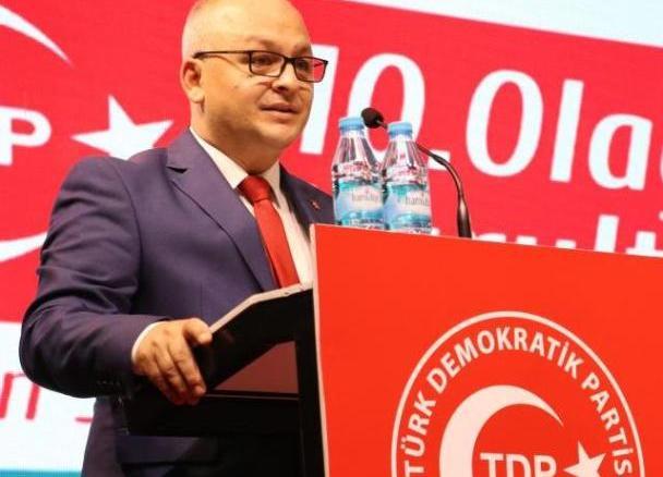 KUZEY MAKEDONYA TURK DEMOKRATiK PARTiSi GENEL BASKANI BEYCAN iLYAS