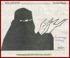 Turban_demokrasi_bizim_icin_aractir