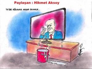 TV'de_aglama