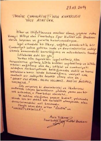 Fenerbahce_Baskani_Aziz_Yildirim_Anitkabir_defterine_yazdi_23.3.14