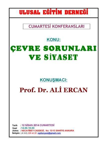 C. Konf. Ali Ercan+