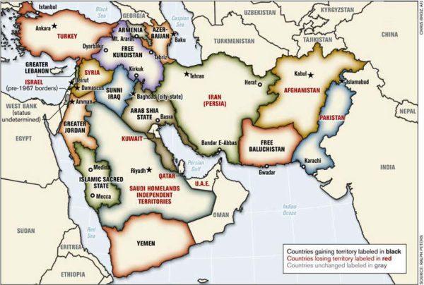 BOP map