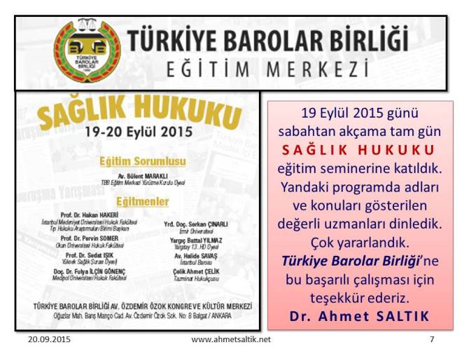 SAGLIK_HUKUKU_SEMINERI_TBB_19.9.2015