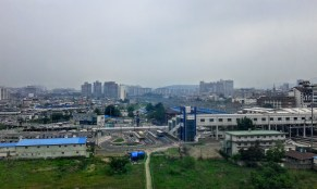 Cheon-an, Chungnam province. Some people say this city is ugly in appearance. But it is one of the fastest growing cities, I think.
