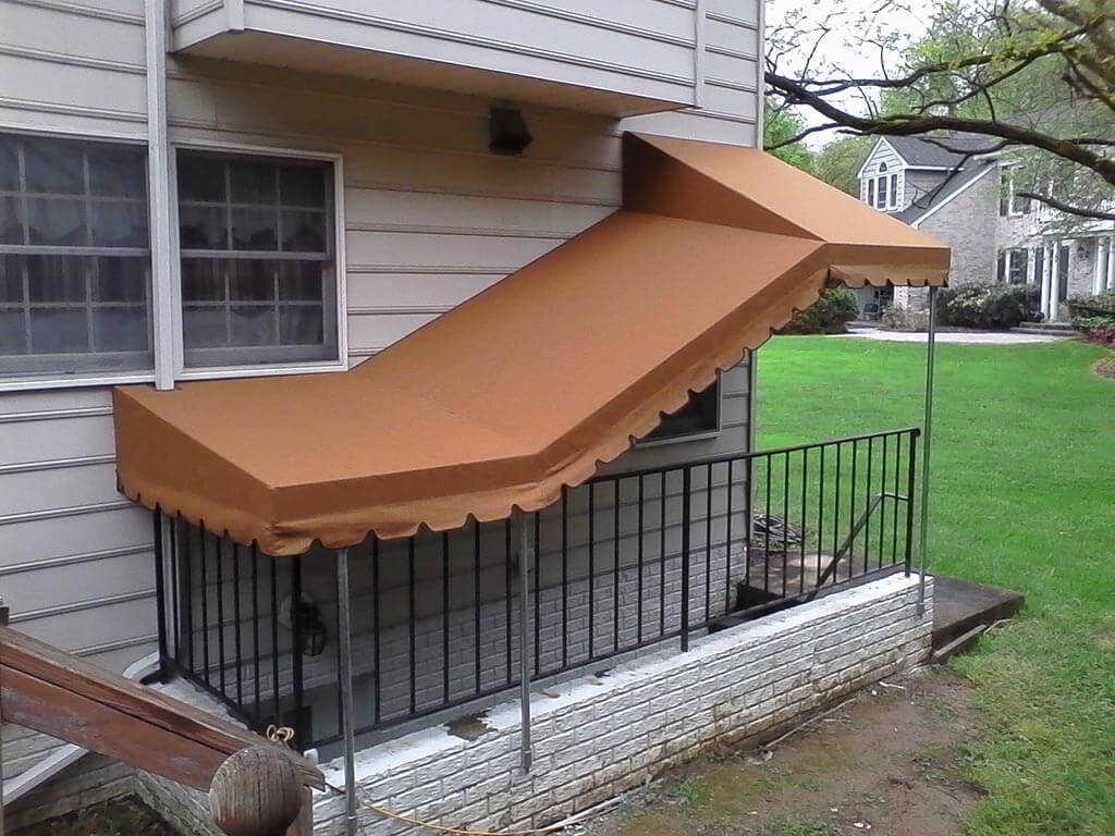 Basement Awnings And Stairway Awnings A Hoffman