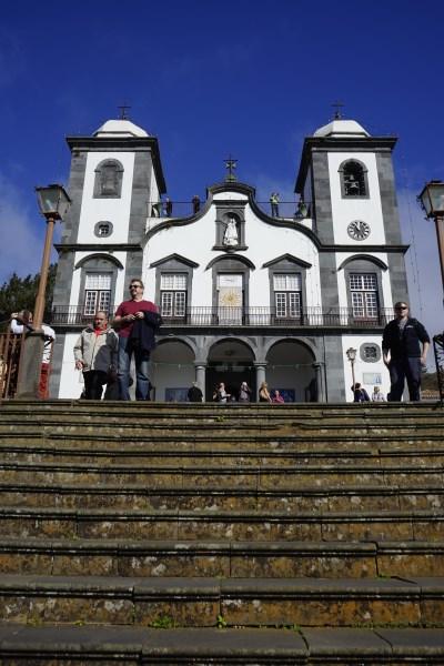 die Kirche von Monte