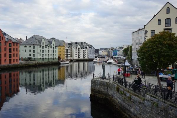 Innenstadt Ålesund