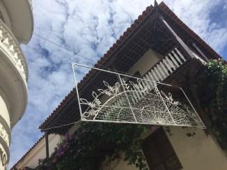 Cartagena mit Weihnachtsdeko