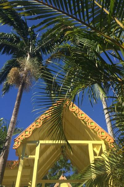 St. Kitts -Caribelle Batik - karibische Baukunst