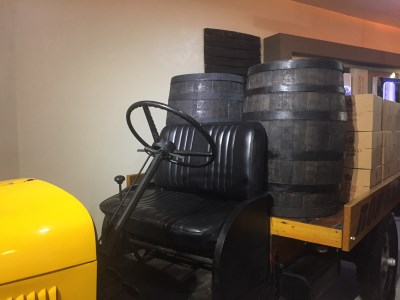 Rum Museum – Ron Barceló Historic Center - altes Transportmittel
