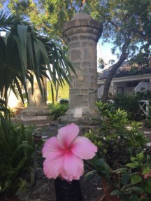 UNESCO Weltkulturerbe - Nelson's Dockyard Museum - Garten