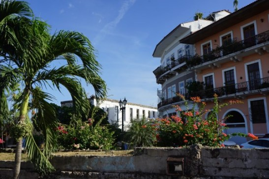 Panama City - Altstadt - Casco Viejo - in den Straßen unterwegs
