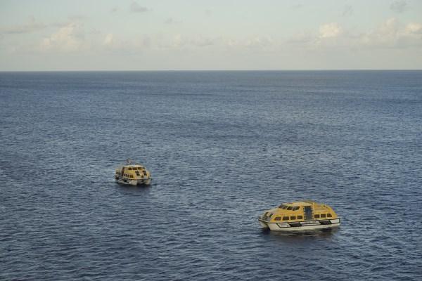 Tenderboote von AidaLuna
