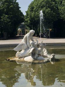 Wasserspiel im Schlosspark