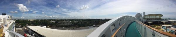 Vom Hafen in die Stadt Santo Domingo