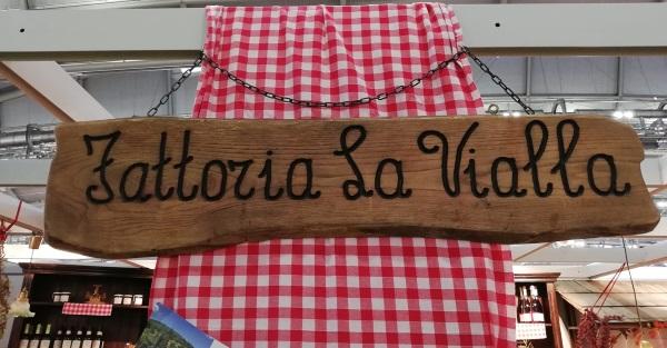 Buchmesse Stand von Frattoria La Vialla