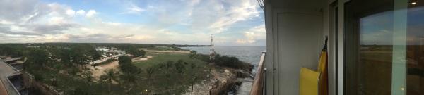Panorama des Hafens von La Romana