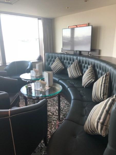 Sitzecke in der Lounge