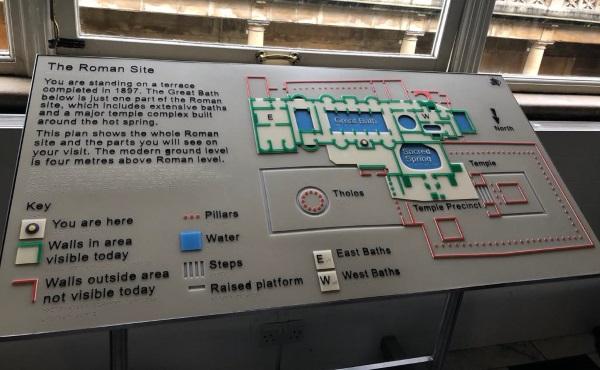 Museum mit taktilem Leitsystem