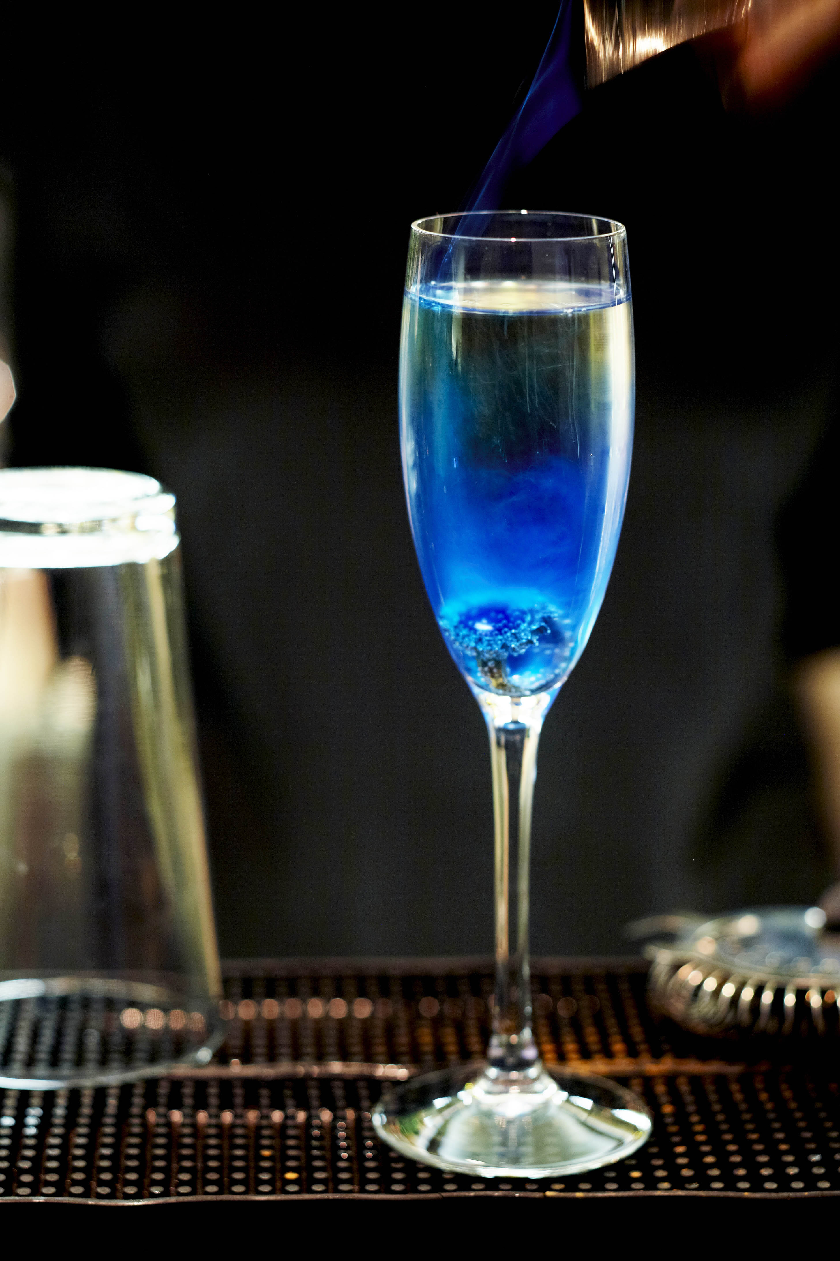 Blue Champagne  A Holistic Journey