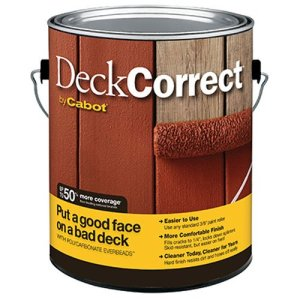 Deck paint for old wood