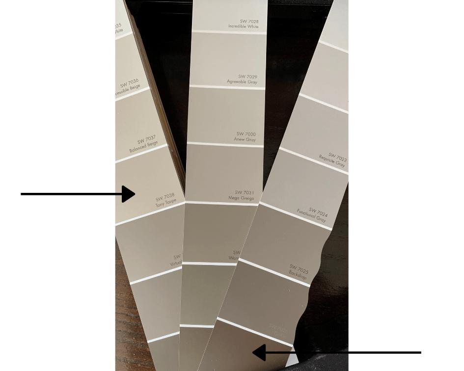 Greige paint colors