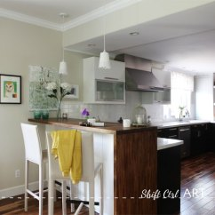 Ikea Kitchen Bar Countertop Options Reveal Before And After Pictures Of Our Remodel Caesar Stone Acacia Hardwood Diy