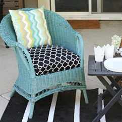 Diy Outdoor Chair Cushion Covers Tables And Chairs Buffalo Ny How To: Sew A Half-round Seat Cover - For My Wicker