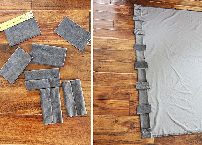 How To Turn A Grommet Top Curtain Into A Back Tab Curtain