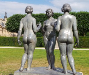 Seen in Paris' Luxembourg Gardens (I like to call this one 'Squad')