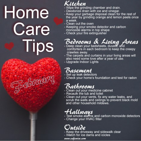 Feb Home Care Tips