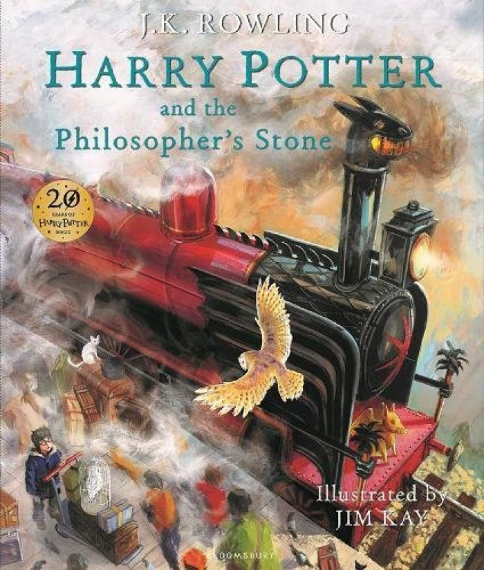 Harry Potter illustrated books - by Jim Kay