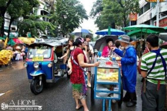 Street Vendors in Bangkok