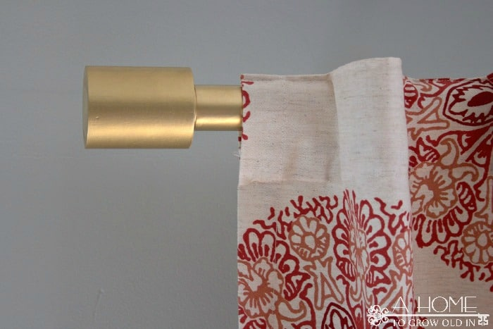 DIY West Elm Oversized Curtain Rod - A Home To Grow Old In