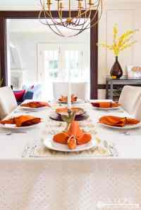 Simple Thanksgiving Table Settings & Easy Tips To Recreate ...