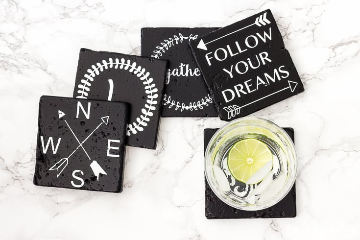 diy farmhouse style coasters by a home to grow old in