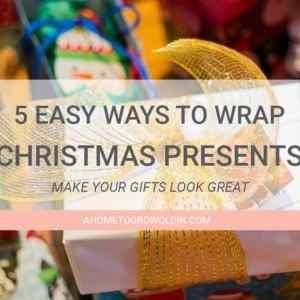 5 Easy Ways to Wrap Presents This Holiday Season
