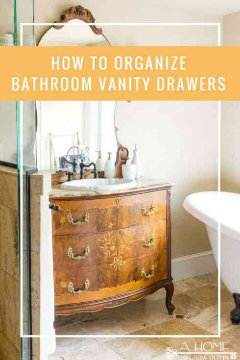 Have you turned a chest of drawers into a bathroom vanity and don't know how to organize everything? Check out all of the bathroom drawers ideas here!