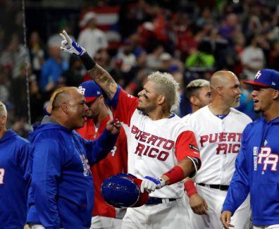 Puerto Rico vence a República Dominicana en el Clásico Mundial de Béisbol