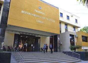 Frontis ,Tribunal de Justicia de Tarija