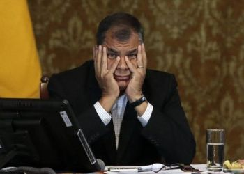 Rafael Correa. AFP
